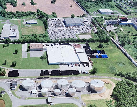 Associated Asphalt production facility