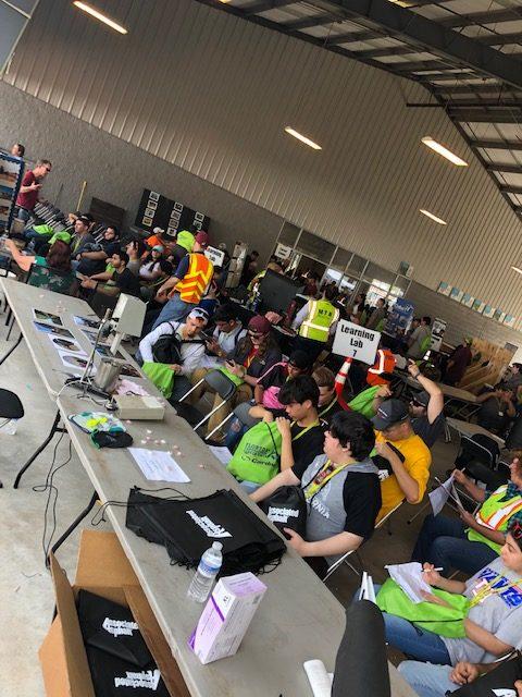 Students at Florida Construction Career Day