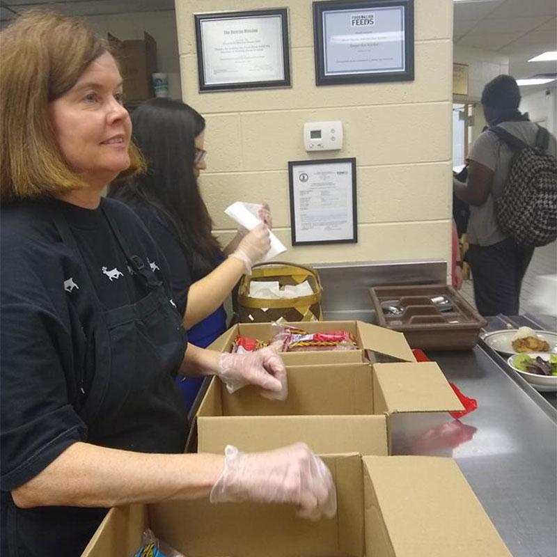 Associated Asphalt community food drive