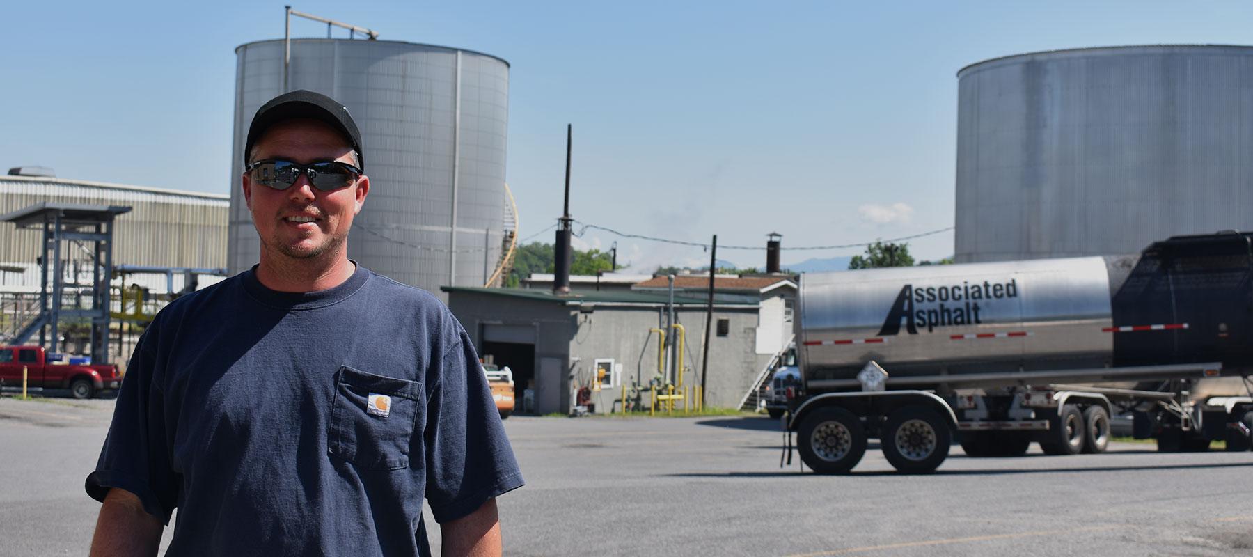 Daniel Palmer, Terminal Manager at Associated Asphalt Roanoke