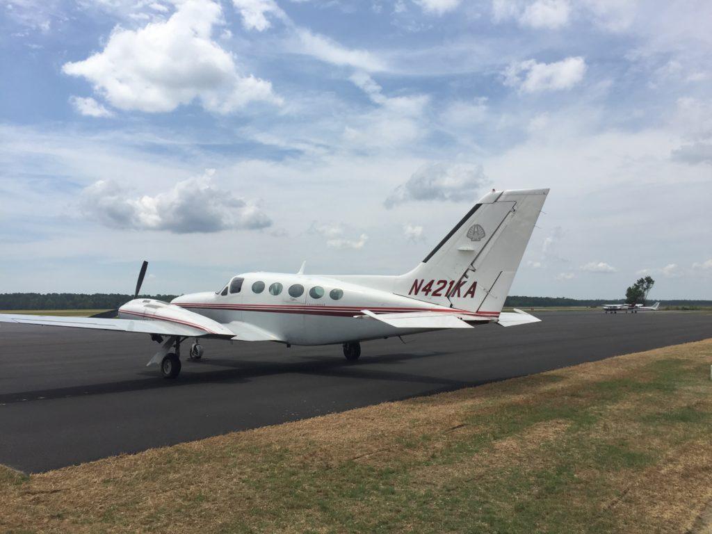 Associated Asphalt runways at Georgetown County Airport
