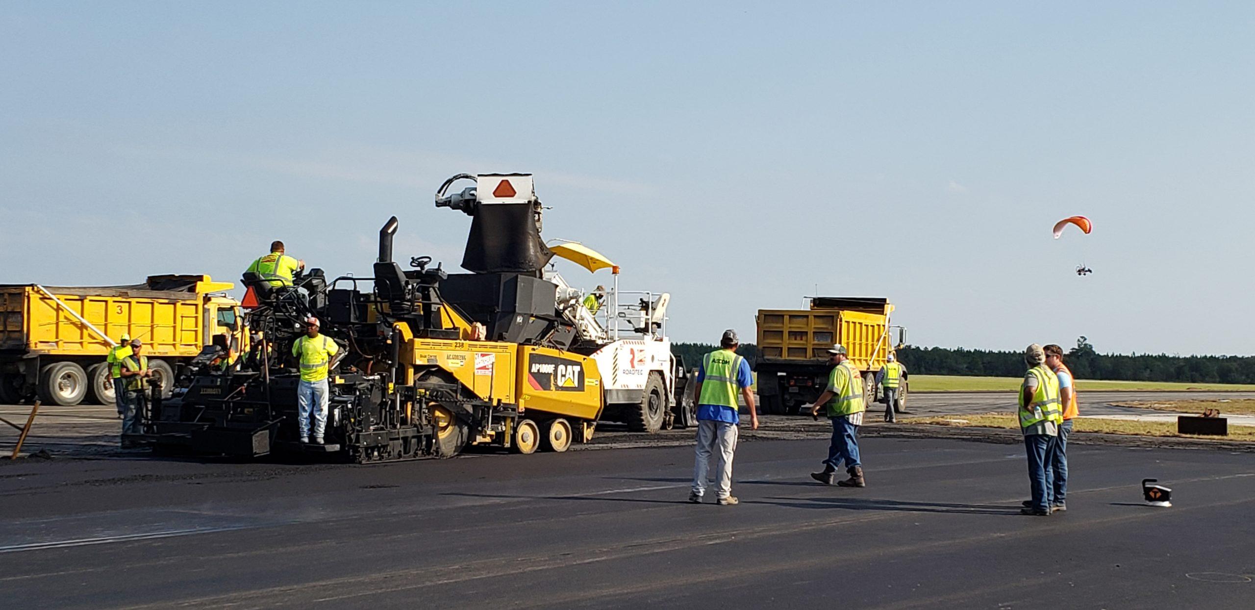 Keystone Airport StellarFlex FR paving project