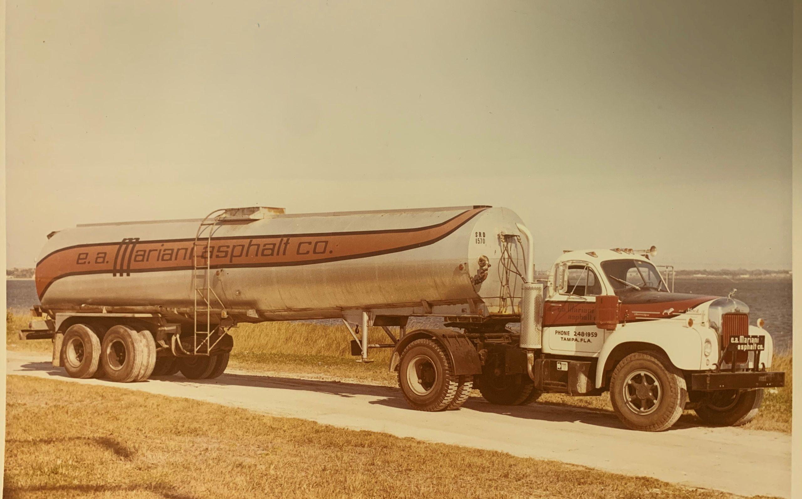 Mariani Asphalt truck